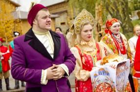 Презентация кваса «Русский Дар» или корпоратив в русско-народном стиле.