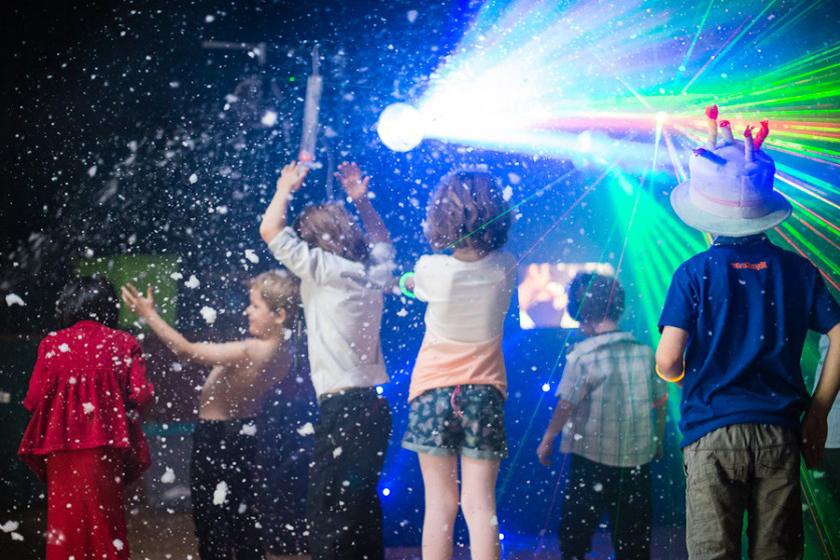 Детский дискотеки на новый год