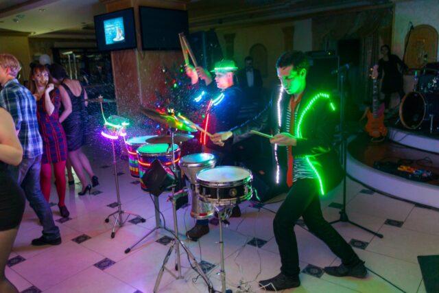 световые барабаны