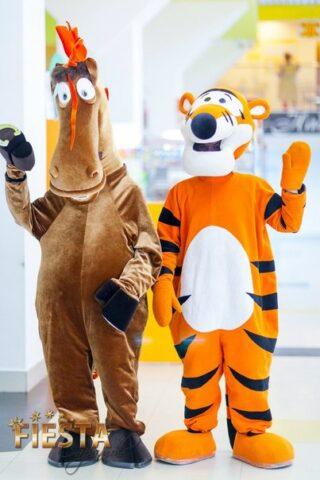 тигр и конь